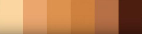 warm skintone